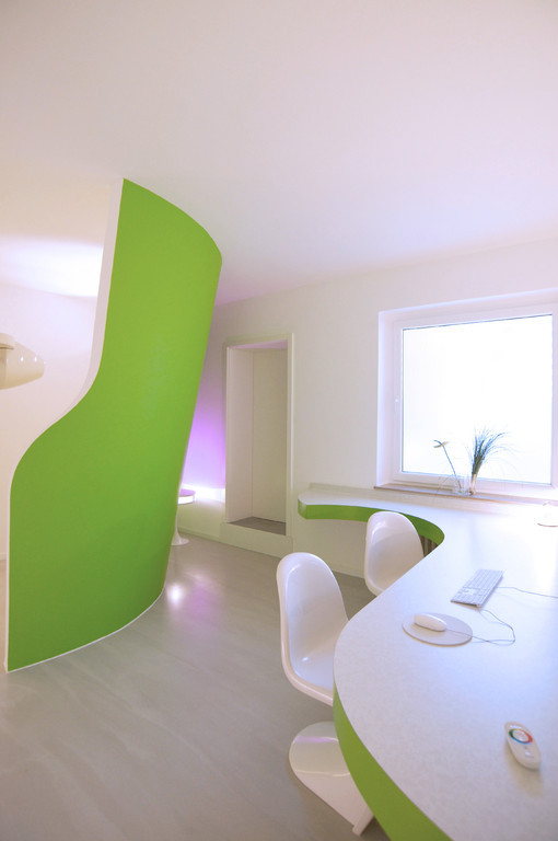 Innenarchitekten Bielefeld praxiseinrichtung logo und webdesign farbpsychologie