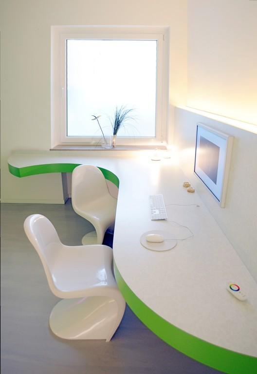 Innenarchitekt Bielefeld praxiseinrichtung logo und webdesign farbpsychologie