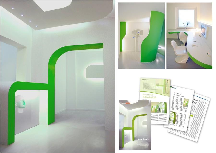 colourform - praxiseinrichtung: praxismöbel, ci-logo, internet, Innenarchitektur ideen