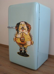 Pimp my Fridge - Upcycling by colourform, Bielefeld. Herford, Gütersloh
