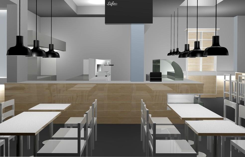 Gastronomieeinrichtung, Innenarchitektur, Bielefeld, colourform