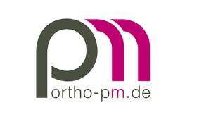 Praxislogo für eine Orthopädin aus Lage/ Ostwestfalen Lippe.