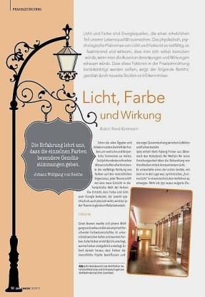Öffentlichkeitsarbeit, PR-Arbeit für Innensrchitekt und Architekt, Bielefeld.