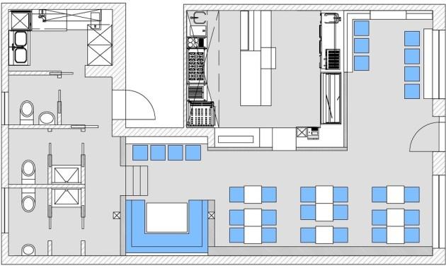 Restaurantplanung, Innenarchitektur, Gastroeinrichtung, Bielefeld, Herford, Gütersloh,