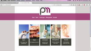 Webdesign, Gestaltung von internetseiten, Praxis Gestaltung von colourform, Bielefeld.
